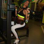 Татьяна Храмова в спортзале